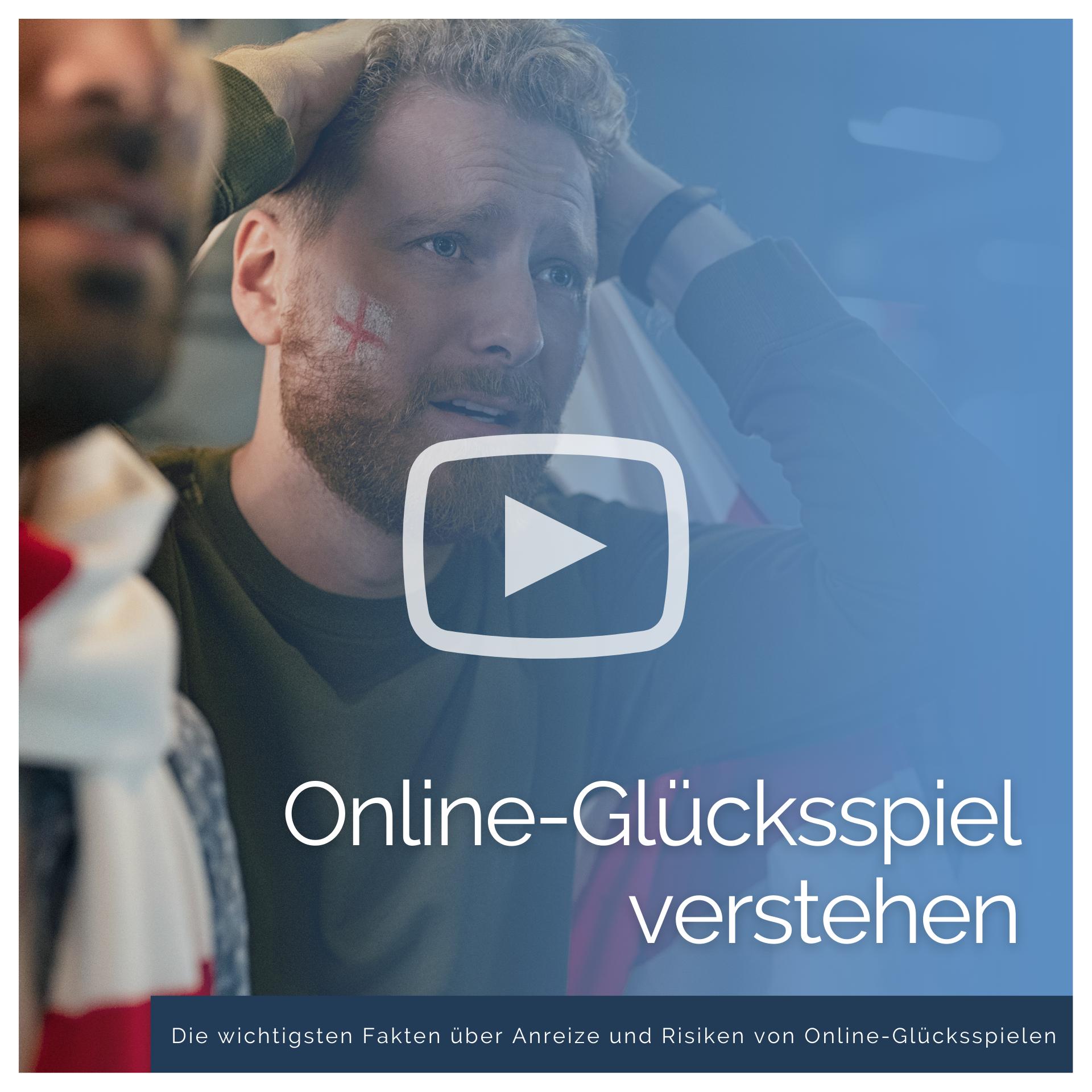 Online-Glücksspiel verstehen Infovideo Anzeigebild